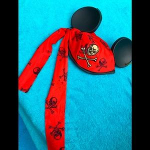 Skull Mickey Mouse Disney ears